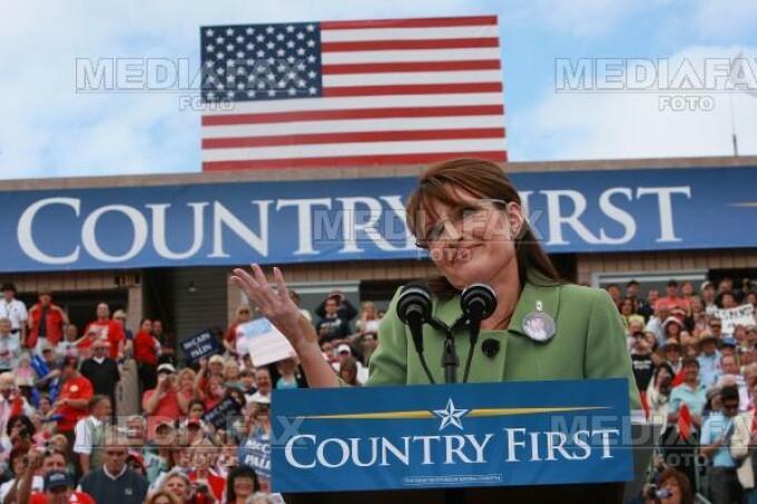 Sarah Palin, parodiata de televiziunile americane