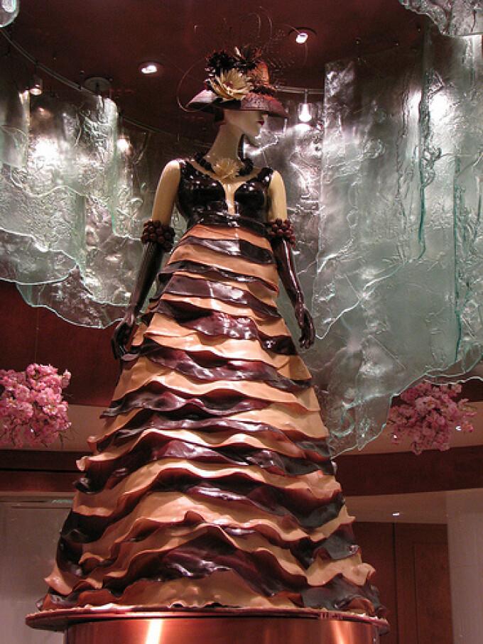 Domnite in rochii de ciocolata