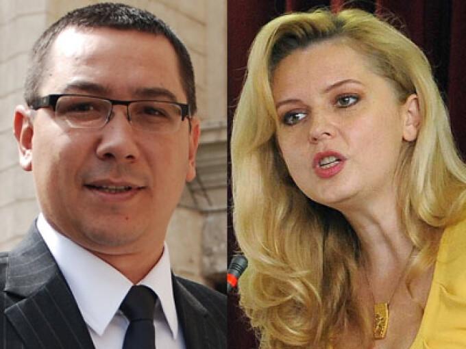 Roberta Anatase si Victor Ponta
