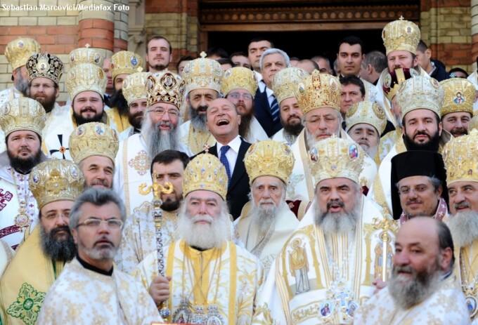 Traian Basescu, canonizare Andrei Saguna