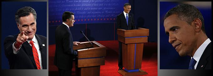 Cover Barack Obama si Mitt Romney