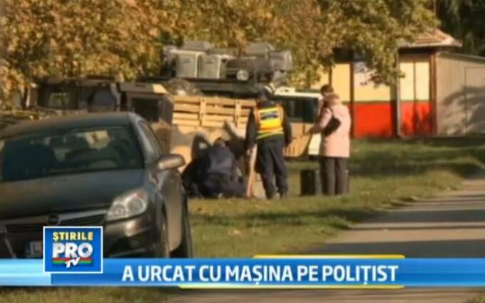 accident, politist ucis, Ungaria