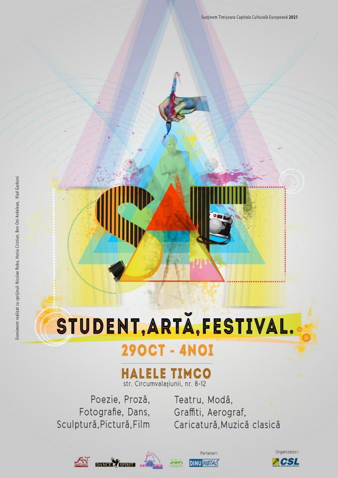 afis festival arta timisoara