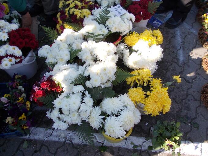 crizanteme ziua mortilor