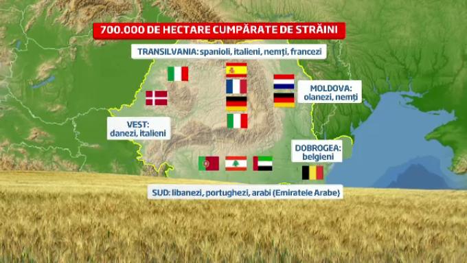 Cum A Devenit Romania O Ferma Cu Proprietar Din Ue Harta