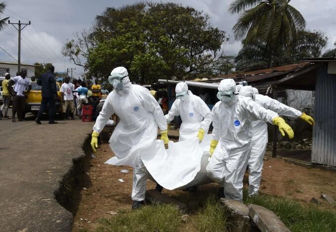 ebola liberia crucea rosie