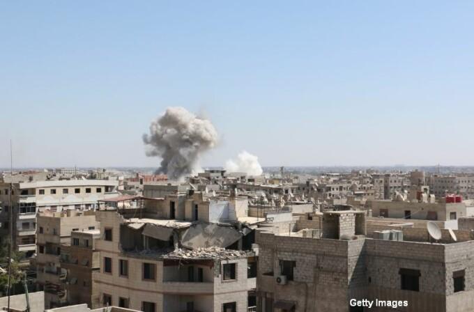 Atacuri aeriene Siria