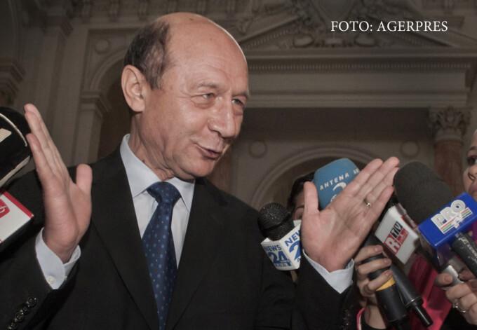 Traian Basescu la curtea de Apel