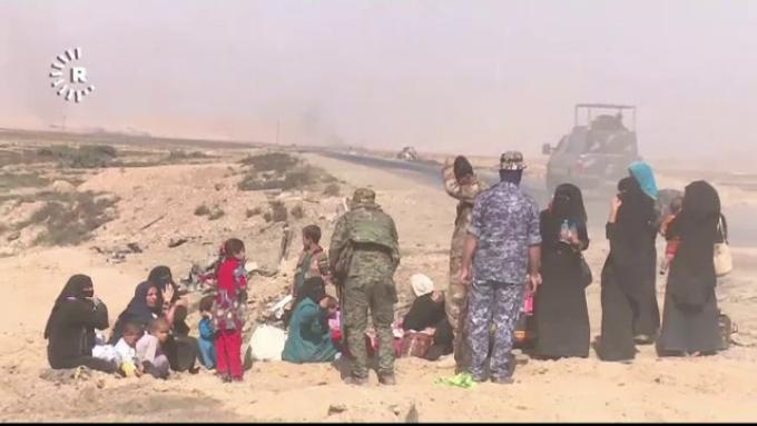 civili eliberati din Mosul