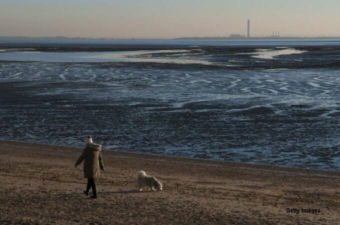 plaja Essex, UK