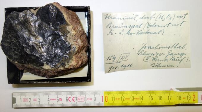 uraniu radioactiv Austria