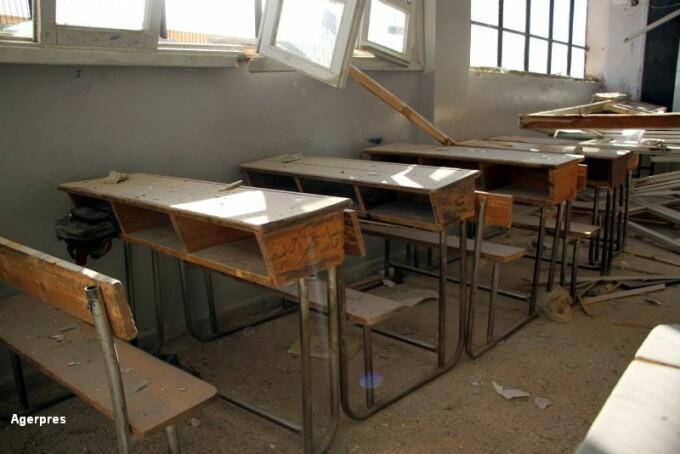 Atac scoala Idlib