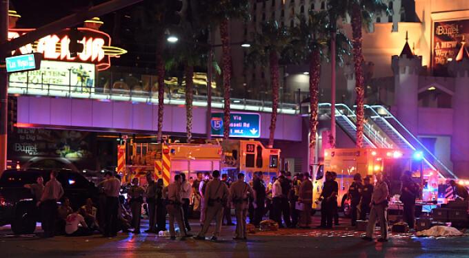 Atac armat în Las Vegas