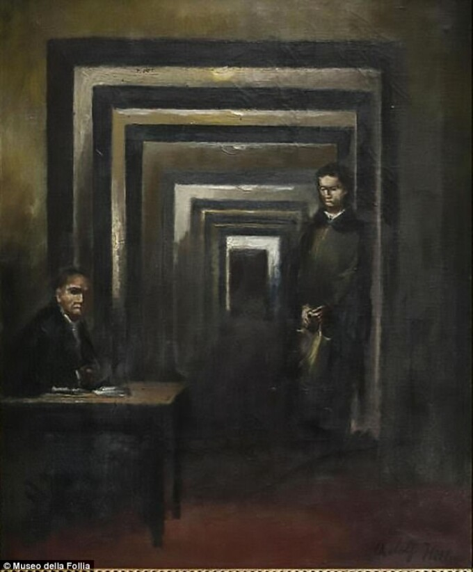 Pictura realizata de Hitler