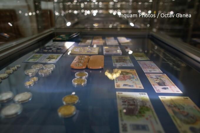 bani in muzeul bnr