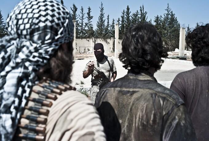 recruţi antrenaţi în SIria