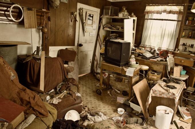 casă murdară