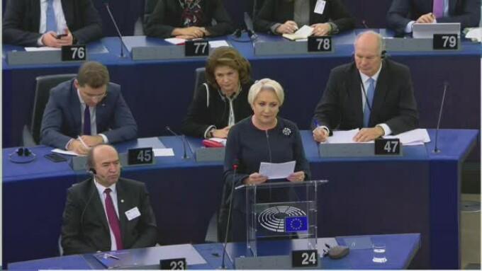 Viorica Dăncilă, Parlamentul European