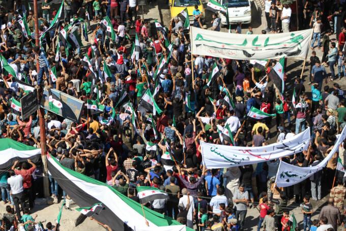 Protest in Siria