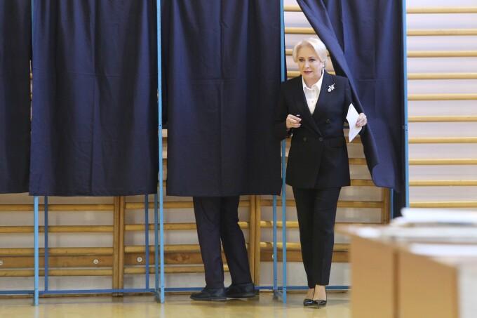 Viorica Dăncilă la referendumul pentru familie