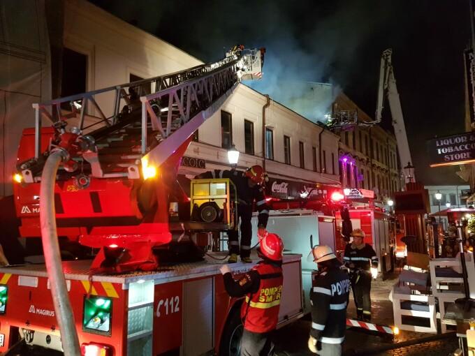 Incendiu Centrul Vechi