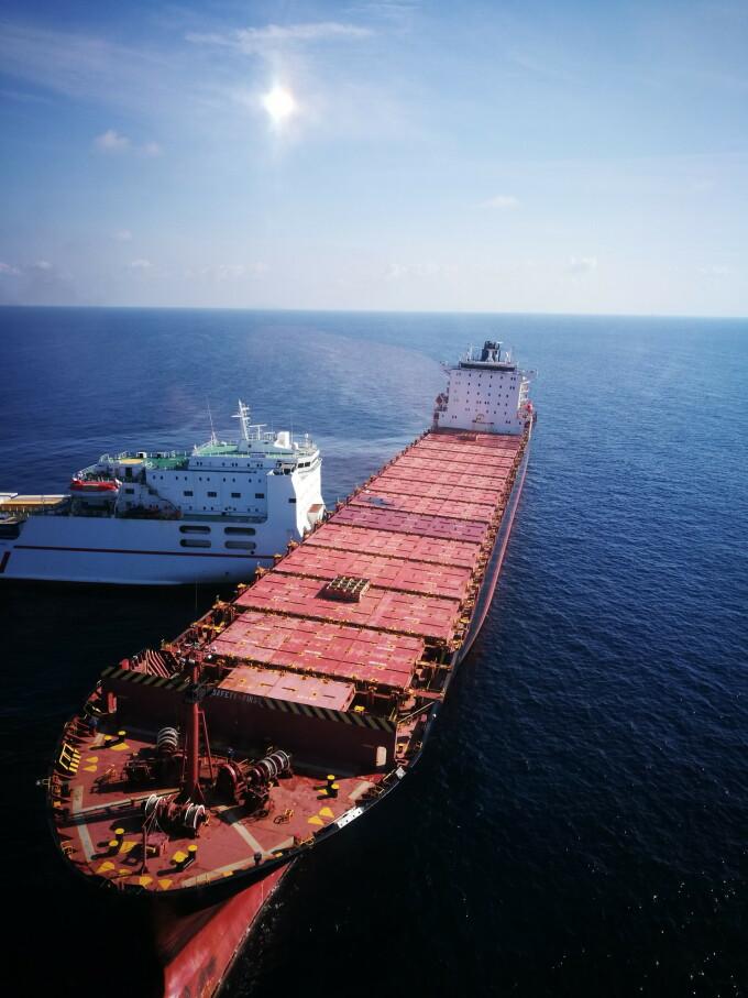 nave care s-au ciocnit in martea mediterana