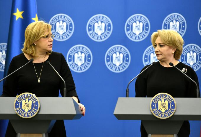 Corina Crețu, Viorica Dăncilă
