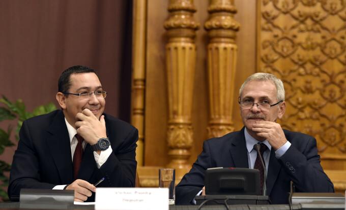 Victor Ponta, Liviu Dragnea