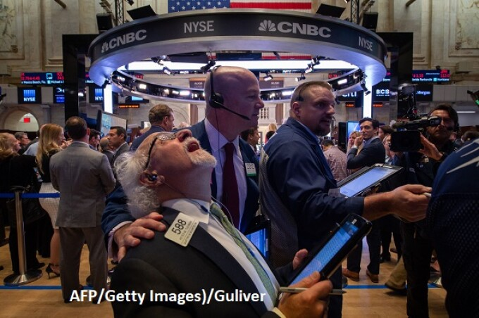 Bursa de la New York, Wall Street - AFP/Getty