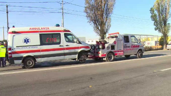 Vama Bors, ambulanta, accident
