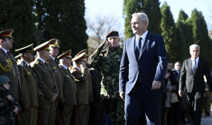 Liviu Dragnea, armata