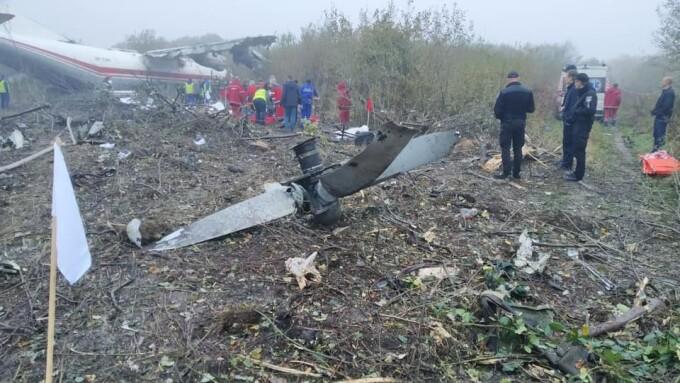incident aviatic in Lviv, Ucraina - 7
