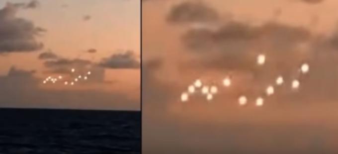 """Apariție misterioasă pe cerul SUA. Reacția martorilor: """"Suntem în mijlocul oceanului"""""""