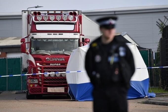 Camion Marea Britanie - 2