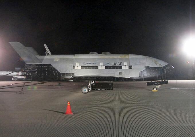 Avionul spaţial, care a aterizat după o misiune record de 780 de zile