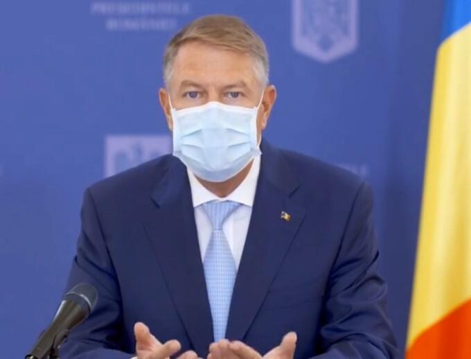 Klaus Iohannis, declarații de presă la Palatul Cotroceni, după cel mai grav bilanț de la debutul pandemiei