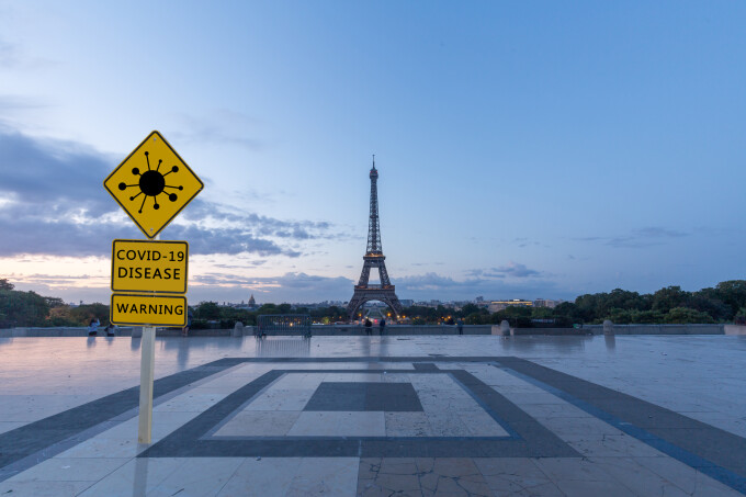 Restricții în Franța