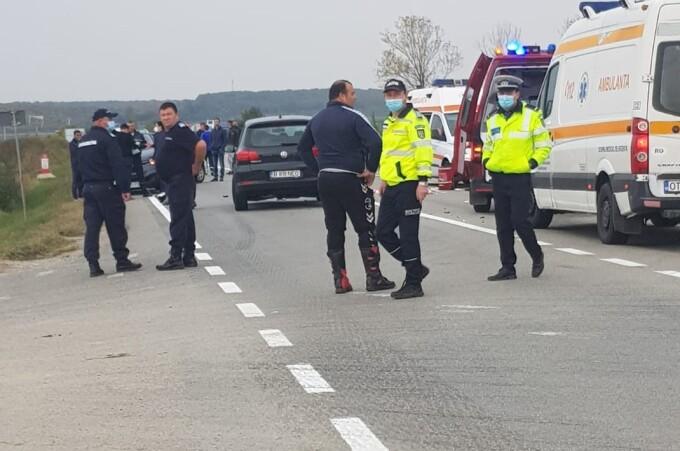 Adolescent de 15 ani, mort într-un accident în Găneasa. Băiatul conducea o motoclicletă