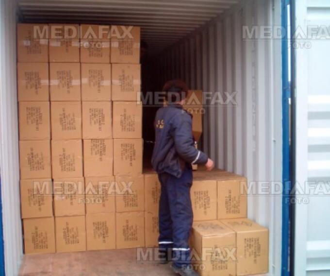 Produsele de contrabanda au fost descoperite la o societate aradeana