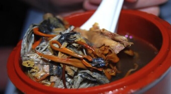 Supa facuta din placenta de caprioara