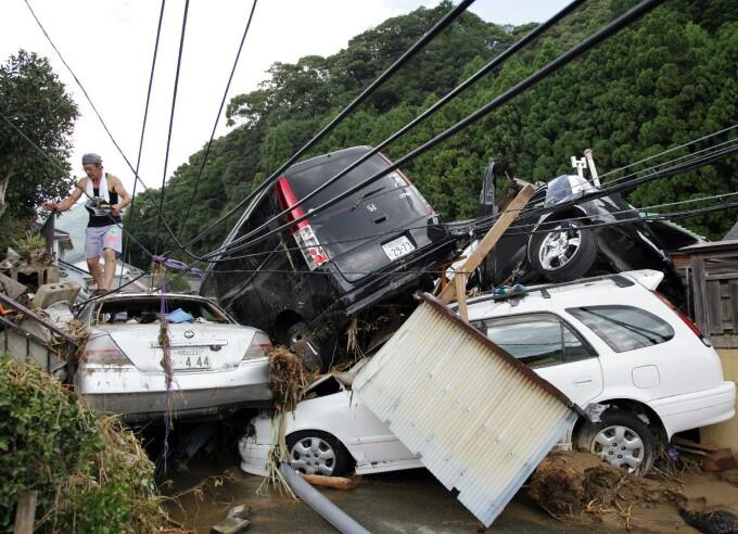 Taifun Japonia - 1