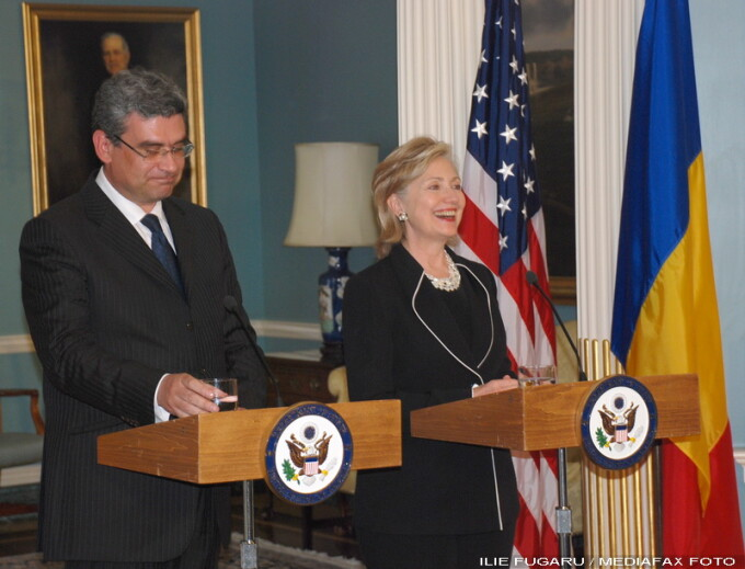 Teodor Baconschi, Hillary Clinton