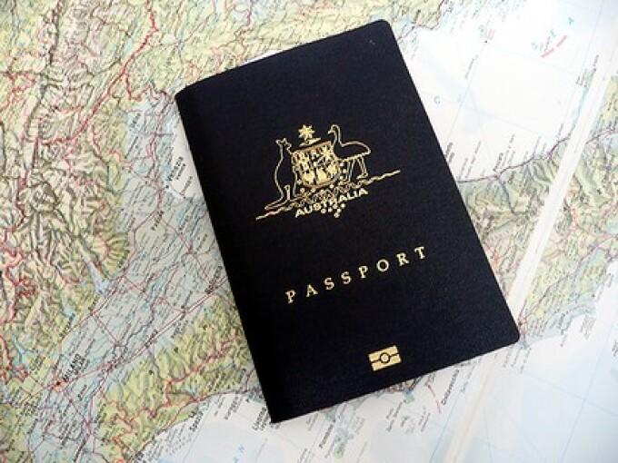 Pasaport Australia
