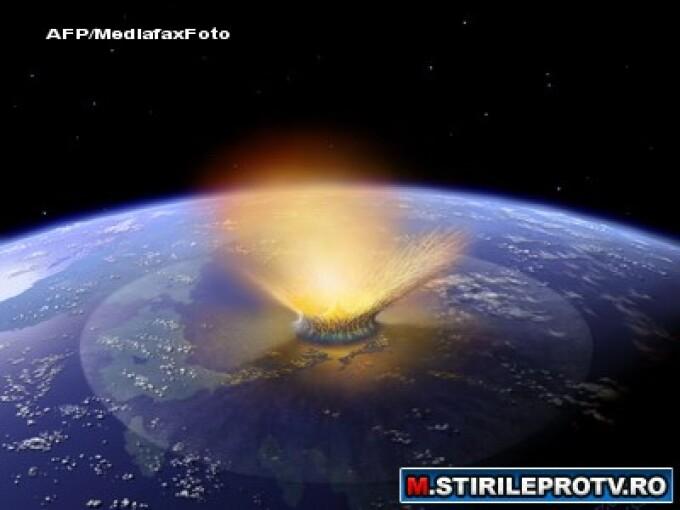 Meteorit pe Terra