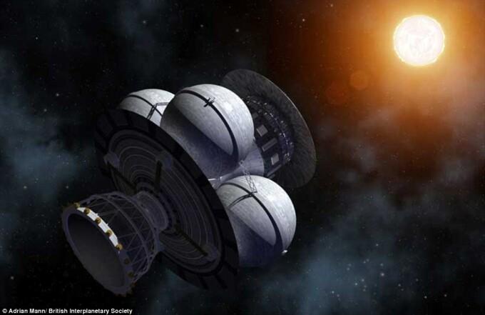 proiectul Daedalus, zbor interstelar 2