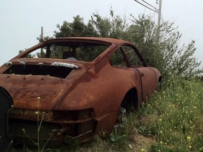 masina abandonata, ZF