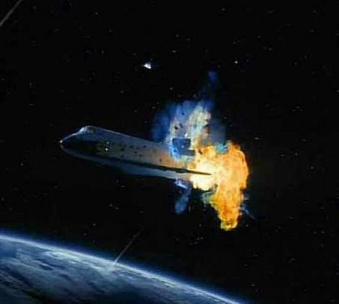 explozie naveta Columbia