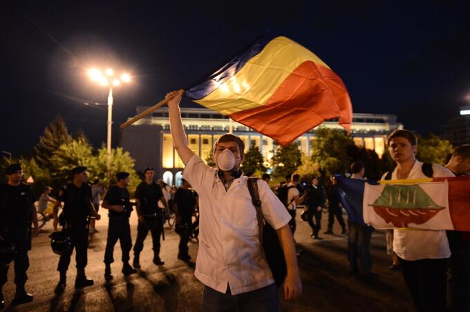 proteste universitate rosia montana
