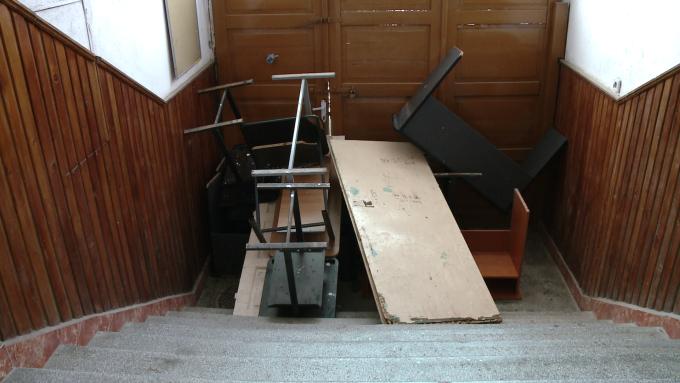 usa blocata, scandal Colegiul Tehnic de Vest Timisoara