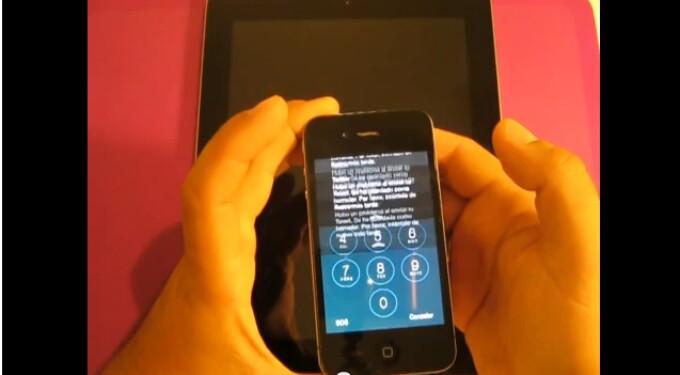 iPhone ecran de start